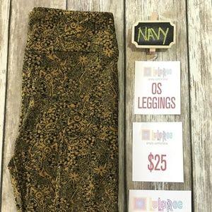 LuLaRoe Pants - LuLaRoe One Size Leggings New with Tags